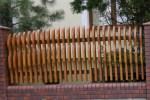 Drewniane Place Zabaw - Elementy uzupełniające - Ogrodzenia