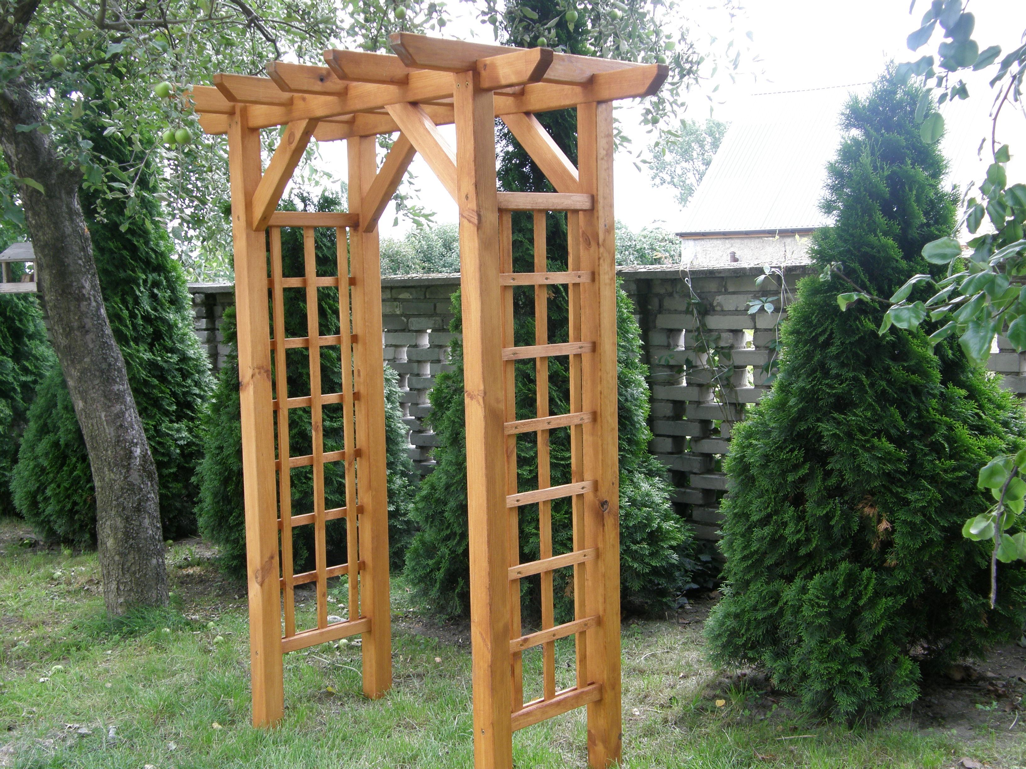 Ogromnie Drewniane Place Zabaw – Elementy uzupełniające – Pergole OT76