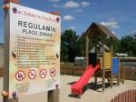 Drewniane Place Zabaw - Elementy uzupełniające - Tablice informacyjne