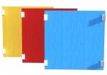 Drewniane Place Zabaw, System Modułowy, Urządzenia pomocnicze: 1. Barierka z płyty