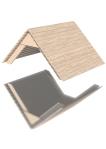 Drewniane Place Zabaw, System Modułowy, Dachy: 2. Dach dwuspadowy