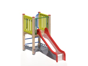 Drewniany zestaw zabawowy Dyzio Mały - wizualizacja