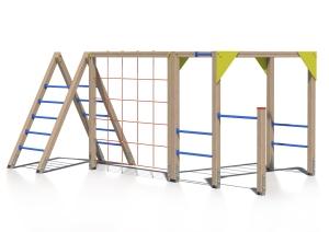Drewniany zestaw zabawowy Pikuś - wizualizacja