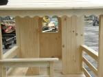 Drewniane place zabaw na użytek prywatny - domki dla dzieci