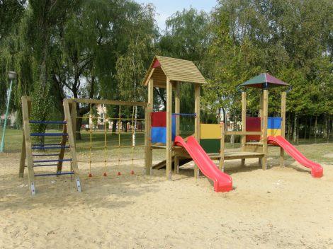 Drewniane Place Zabaw - Mogilno, Paweł i Gaweł