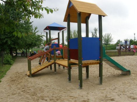 Plac zabaw w Mogilnie
